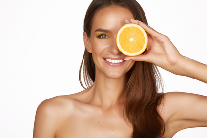 Vitamin C for glowing skin